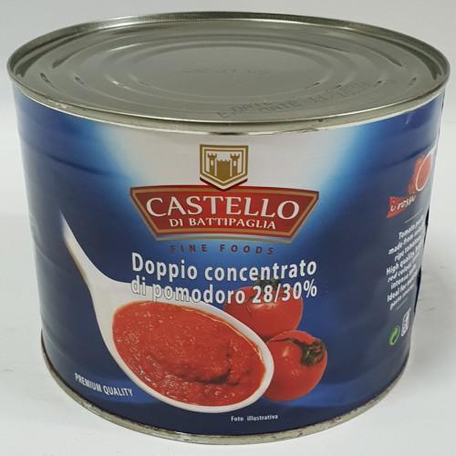 CASTELLO Tomato paste 28% 2.2kg