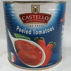 CASTELLO Whole Peeled Tomato 2.55kg x 6