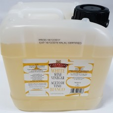 CASTELLO White Wine Vinegar 5Lt