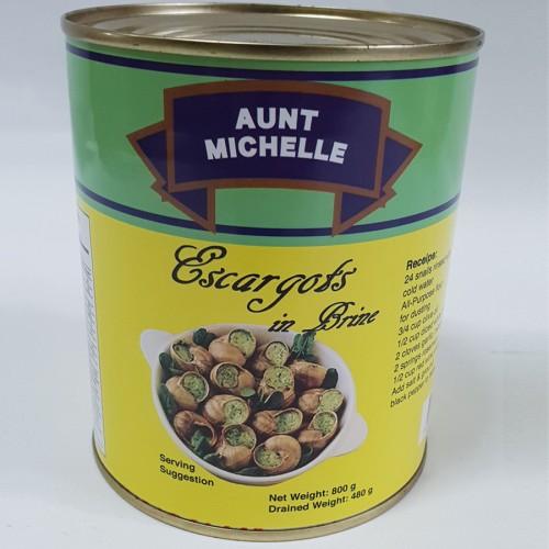AUNT MICHELLE Escargot Meat 800gm