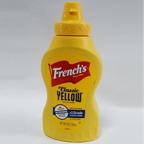 French Yellow Mustard 8oz
