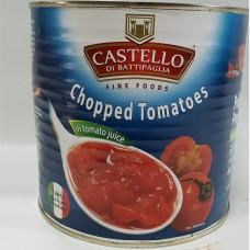 CASTELLO Chopped Tomato 2.55kg