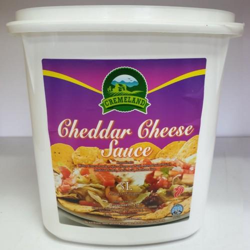 CREMELAND Cheddar Cheese Sauce 3L